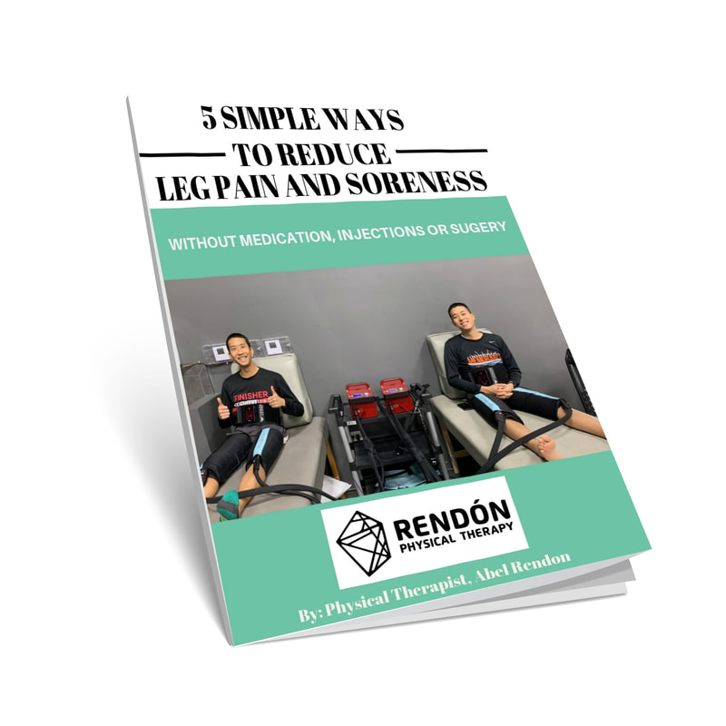 Free e-book - Reduce leg pain and soreness