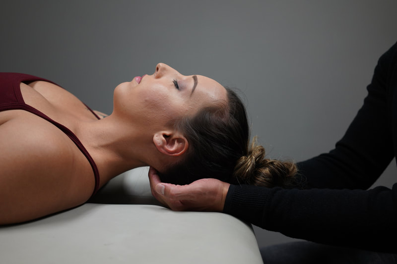 Myofacial release - neck pain