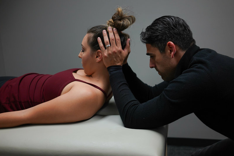 Myofacial release - head and neck stiffness